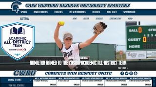 Case Western Reserve University - Spartans Softball