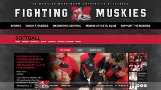 Fighting Muskies Softball