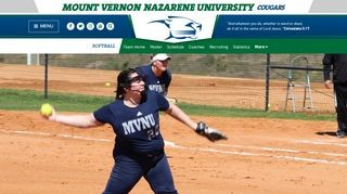 MVNU - Cougars Softball
