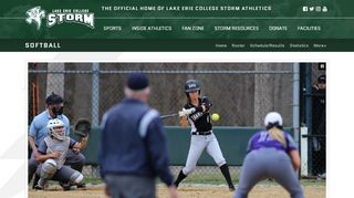 Lake Erie College Storm Softball