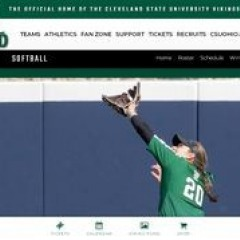 Cleveland State University - CSU - Vikings Softball