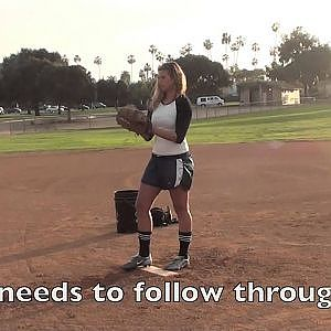 I Can Teach Anyone To... Softball Pitch - YouTube