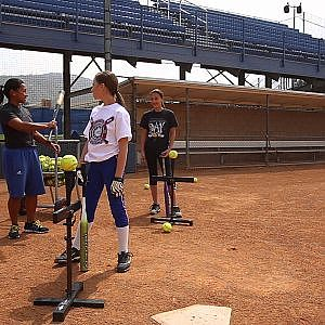 Smart Softball: 2 Drills that make Hitting Super Simple - YouTube