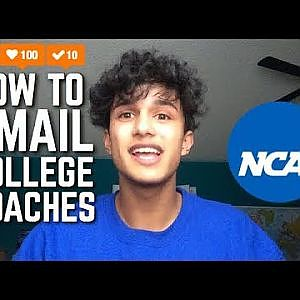 Emailing College Coaches Tips